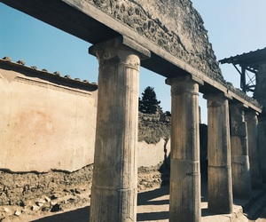 architecture, pompeii, and history image
