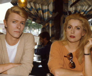 david bowie and catherine deneuve image