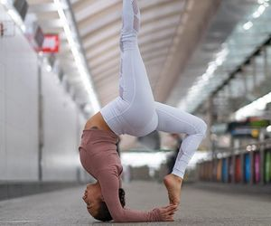amazing, backbend, and fit image