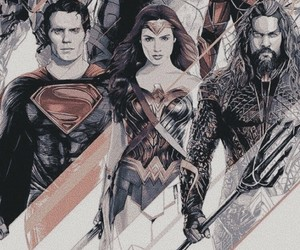 justice league, wallpaper, and dc comics image