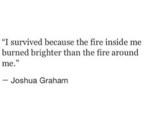 fire and quotes image