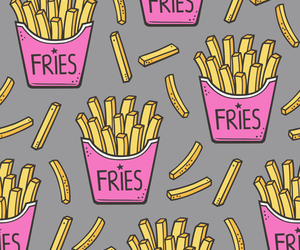 French Fries, background, and food image