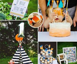 baby, baby shower, and woodland baby shower image