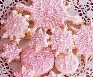 christmas, pink, and sweet image