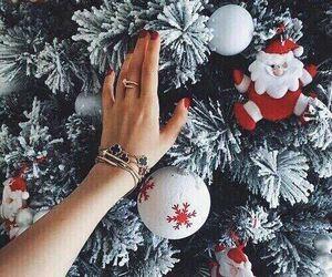 christmas, green, and holiday image