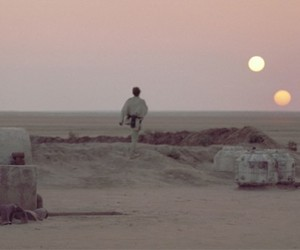 star wars, luke skywalker, and tatooine image