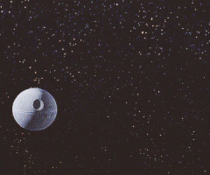 star wars and death star image
