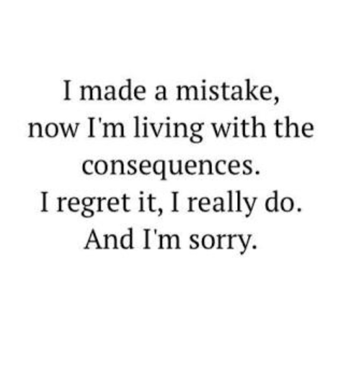 regret, mistakes, and thoughts image