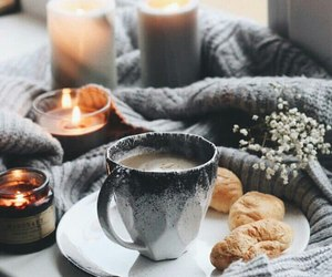 candles, coffee, and tea image