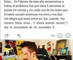 funny, love story, and memes en español image