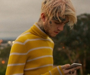 lil peep, yellow, and aesthetic image