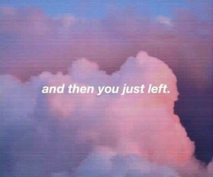 quotes, clouds, and tumblr image