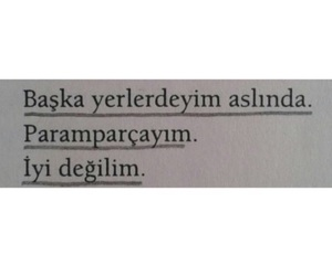 quotes, tumblr, and Turkish image