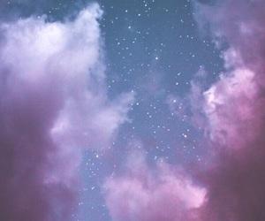 wallpaper, sky, and stars image