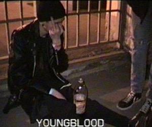 grunge, boy, and drugs image