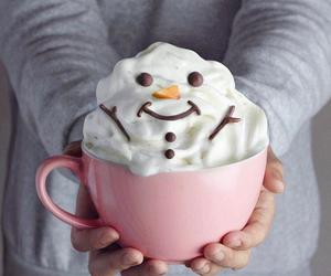 snowman, christmas, and winter image