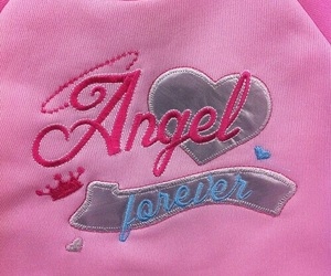 angel, pink, and aesthetic image