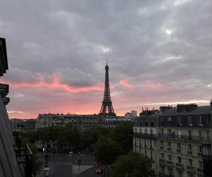 beautiful, clouds, and paris image
