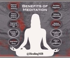 meditation and yoga image