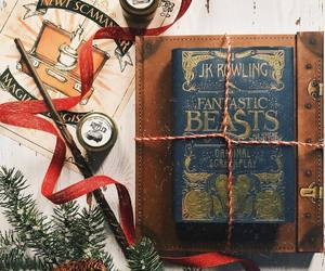 book, christmas, and fantastic beasts image