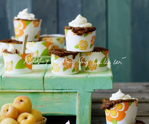 apricot, cupcakes, and still life image