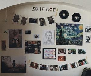 room, art, and indie image