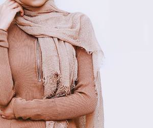 hijab, modest fashion, and muslima image