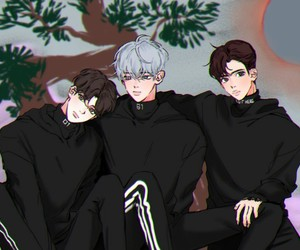 exo, fanart, and electric kiss image