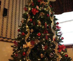 christmas tree, christmas, and decoration image