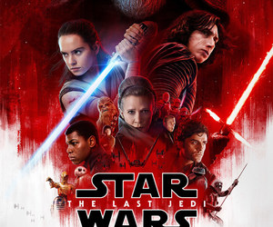 star wars, the last jedi, and poster image