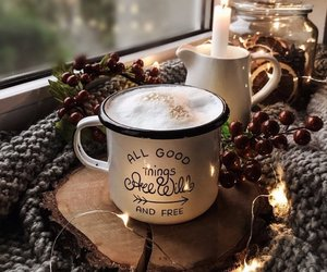 coffee, decor, and drink image