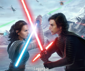 star wars, the force awakens, and kylo ren image