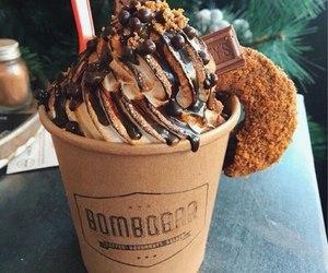 dessert, ice cream, and chocolate image