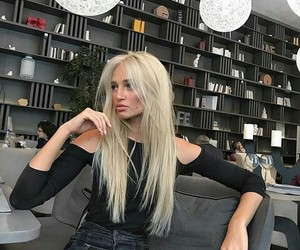 blonde, girl, and luxury image