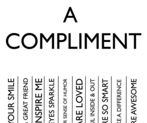 compliment, motivation, and smile image