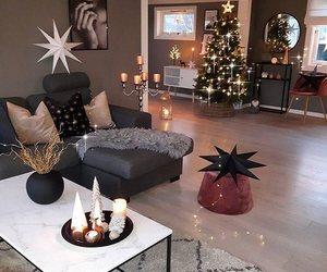 christmas, girl, and room image