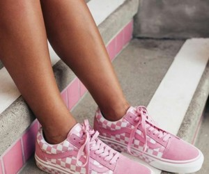 fashion, pink, and vans image