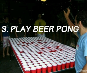 alcohol, alternative, and beer pong image