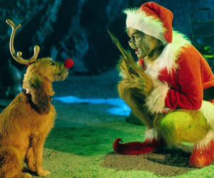 grinch, christmas, and dog image