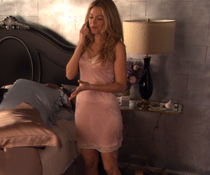 gossip girl, nightgown, and serena image