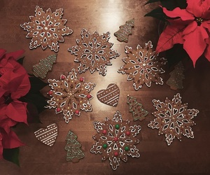 baking, christmas, and decoration image