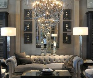 design, house, and chandelier image