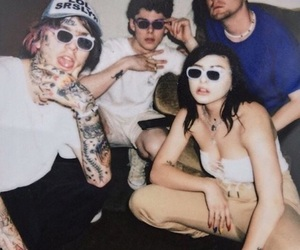 grunge, lil peep, and friends image