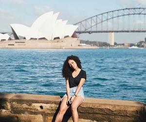 australia, beach, and sun image