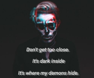 aesthetic, charm, and demons image
