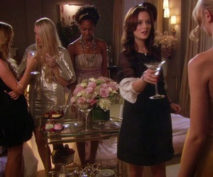 blair, slumber party, and blair waldorf image
