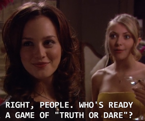 blair, slumber party, and gossip girl image