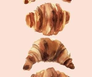 croissants, draw, and paris image