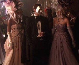 gossip girl, masks, and masquerade image