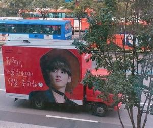 bus, kpop, and bts image
